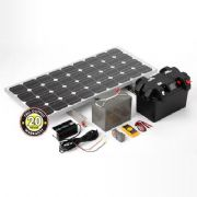 120W Off Grid DIY Solar Power Station
